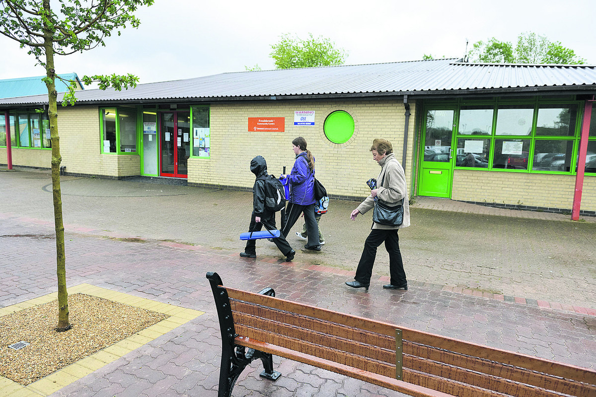 Freshbrook Village Centre has undergone a revamp