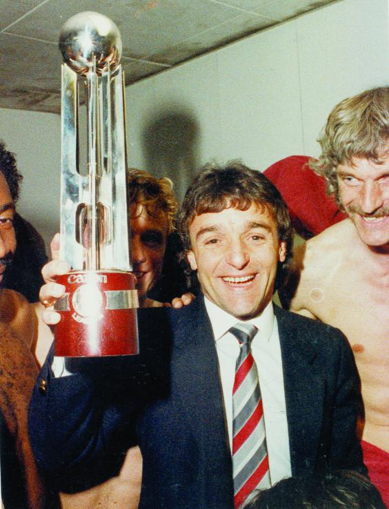 Swindon Advertiser: Town fans were delighted to hang on to Lou Macari