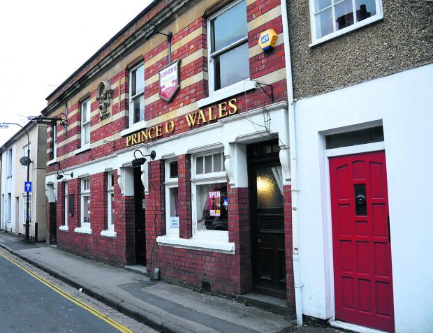 The Prince of Wales pub in Union Street, Old Town