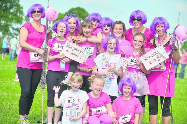 Sun shines on Race for Life