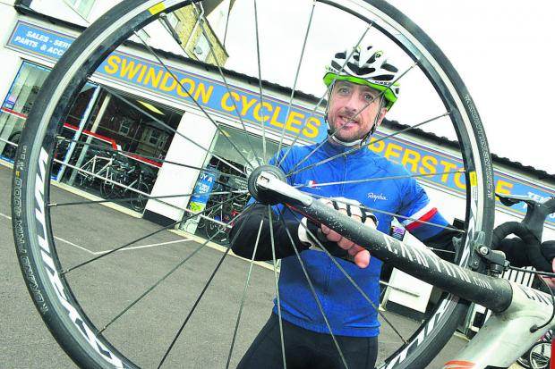 Paul Attiwell, who is taking part in Tour de Force next month to raise money for charity