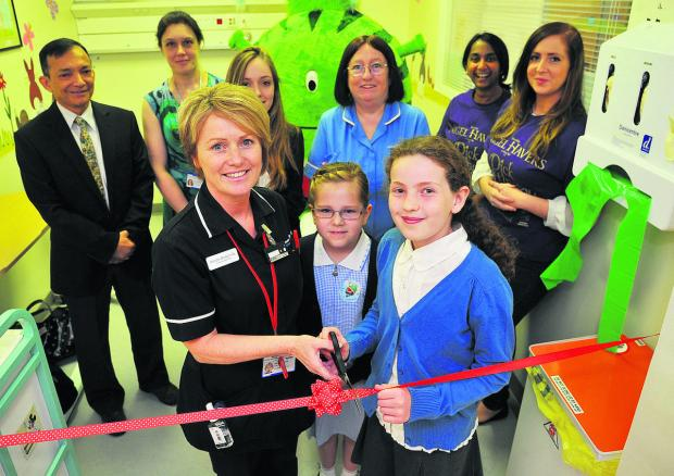 Children's A&E unit is officially opened
