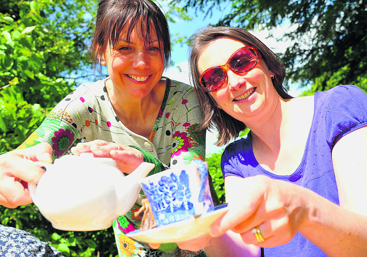 Tea's up as museum gets close to nature