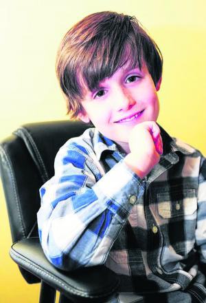 Young actor Tomi Fry who is starring in Billy Elliott The Musical in the West End