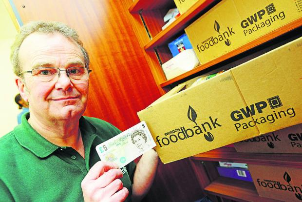 David Hartridge from Swindon Foodbank