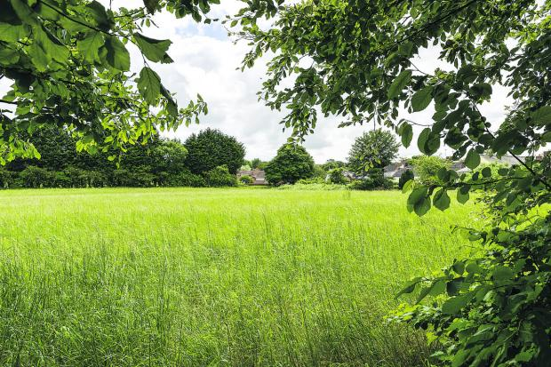 More than 300 residents objected to plans for 103 homes to be built to the east of Marlborough Road in Wroughton