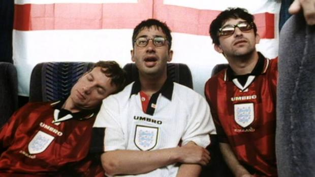 Badiel, Skinner and The Lightning Seeds with a revamped Three Lions '98