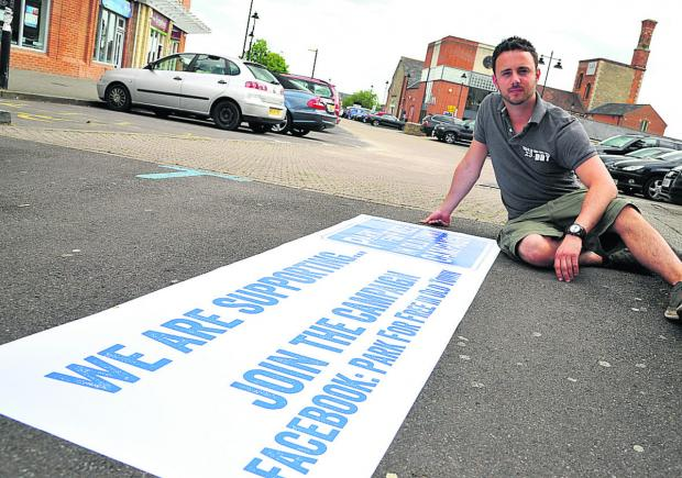 Swindon Advertiser: Kris Talikowski, who wants free parking in Old Town to help businesses