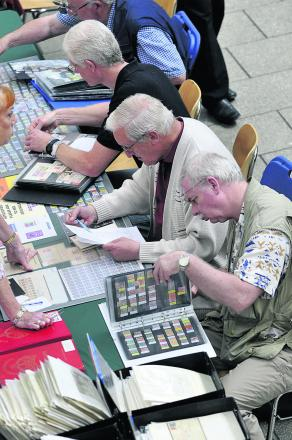 The 25th annual Swinpex Stamp and Postcard Fair. Picture: DAVID MORRISON