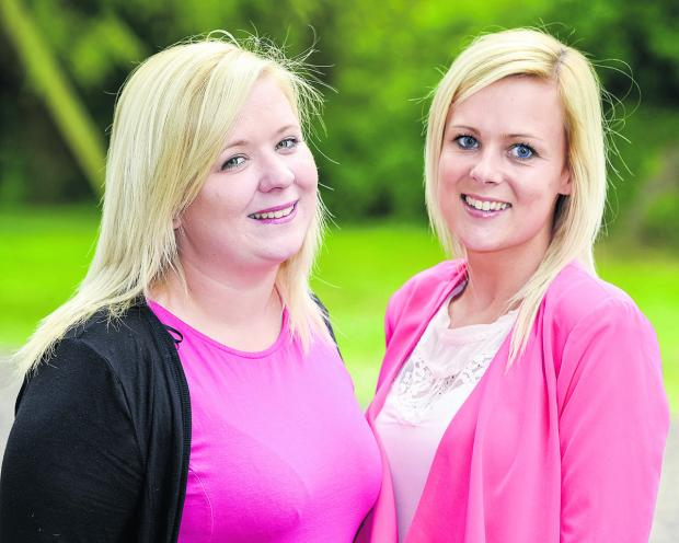 Chloe Thomas, left,  and Kate Stevenson are raising money for MIND through a family fun day