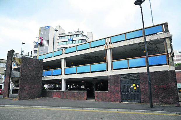 Car park to be sold for redevelopment