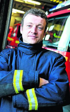 South west FBU secretary Brent Thorley