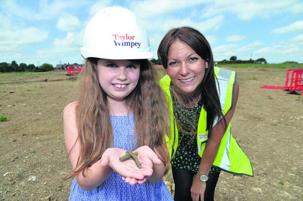 Amelia Belsher and Mary Beck, of Taylor Wimpey