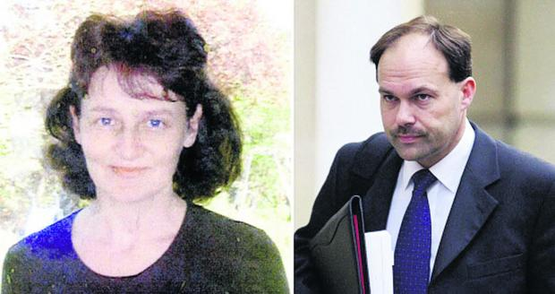 Linda Razzell, who vanished in 2002, and her husband, Glyn Razzell, who was convicted of her murder