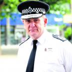 Swindon Advertiser: Chief Constable Pat Geenty chased a suspected shoplifter in Chippenham yesterday