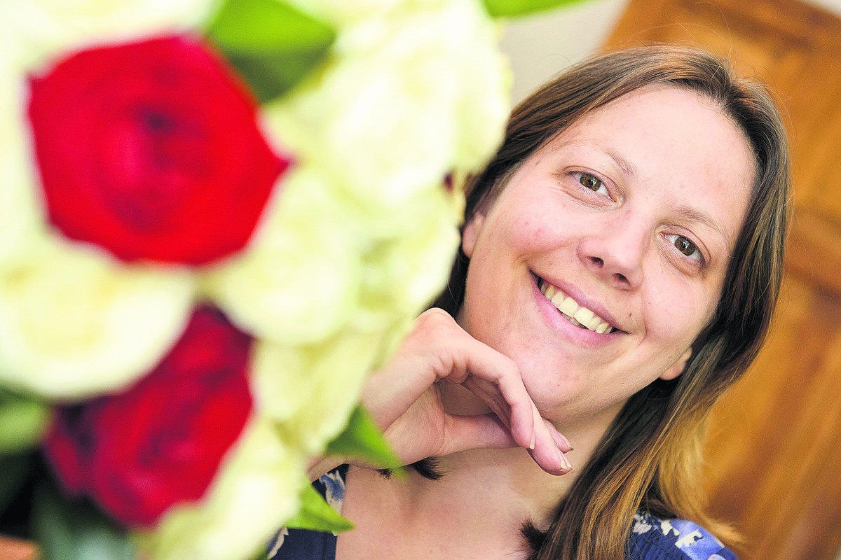 Centre For Cities has named Swindon fourth in the country for growing small businesses. Pictured is Louise Joachim, the owner of Wendy House Flowers