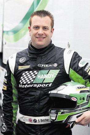 Swindon BTCC driver Simon Belcher