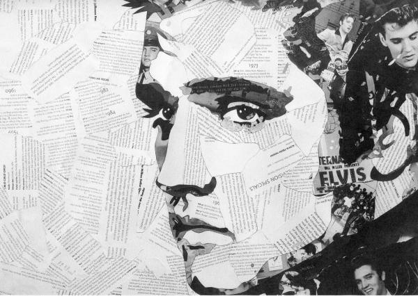 Elvis Presley, whose death in August 1977 sent shockwaves around the world – although the Adver leader writer was less than complimentary about the King of Rock and Roll
