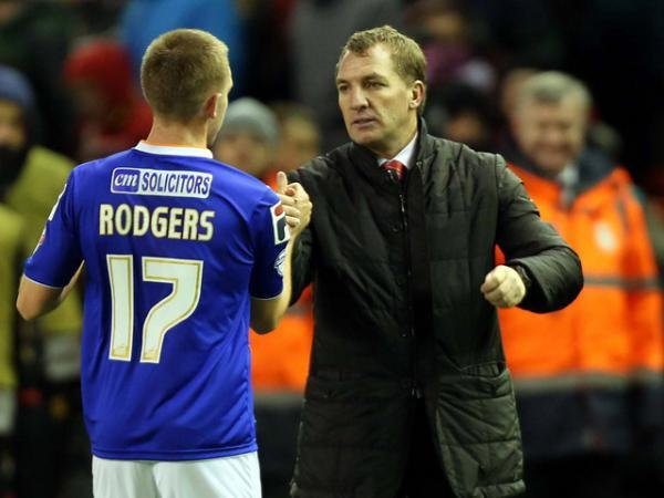 Anton Rodgers, the son of Brendan Rodgers, is on trial at Swindon Town