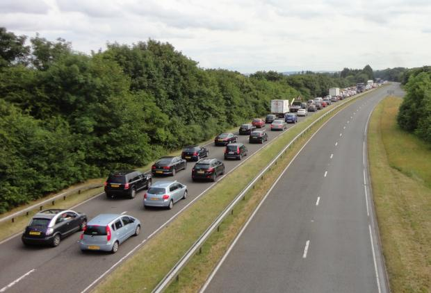 A420 reopens with roadworks completed a week early