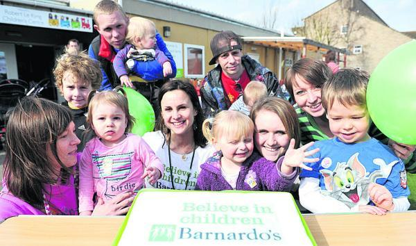 Swindon Advertiser: Barnardo's Robert Le Kyng Children's Centre celebrating its 5th anniversary back in 2011. The building may now be adapted for community use