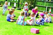 Children are supervised at all times and get plenty of time outdoors in good weather