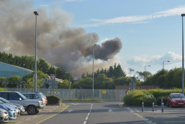 Protest to be held tonight against plans to move burnt Averies waste across town