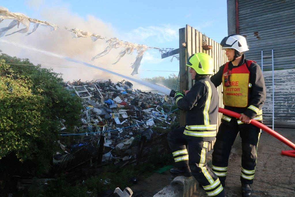 Public meeting will be held tonight to discuss the Averies Recycling fire