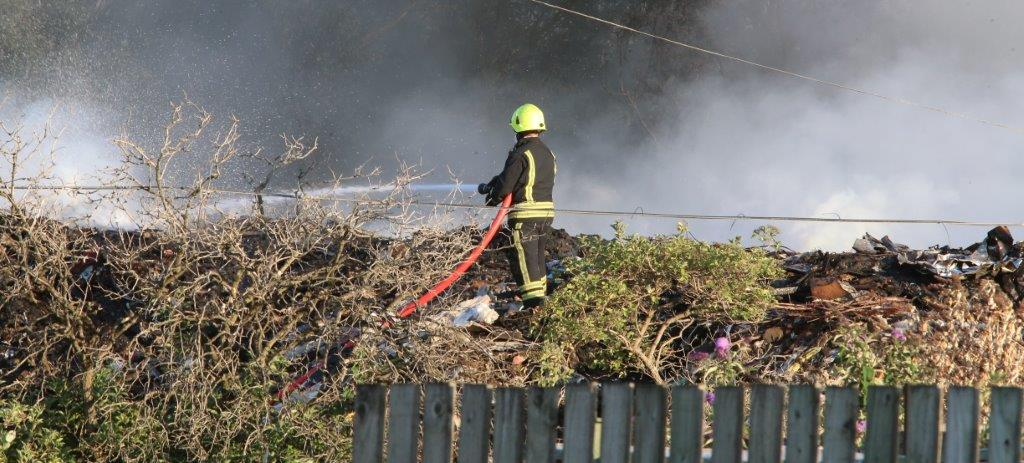 Waste from Averies fire site to be moved to former park and ride in Groundwell