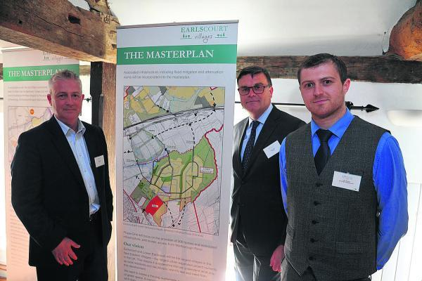 Robert Clarke of Earlscourt and  Liam Kenyon of Ainscough Strategic Land