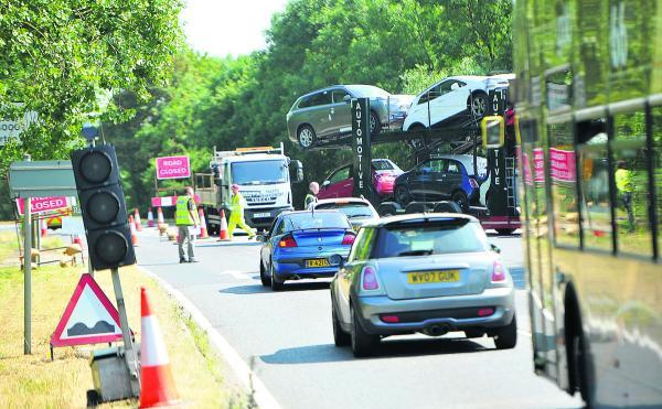 'Nightmare' as A420 bypass closes