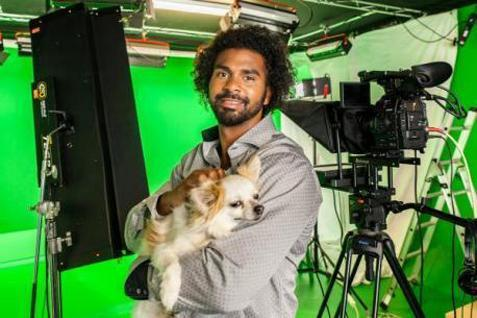 Former boxer and Chihuahua owner David Haye turns weatherman for dogs