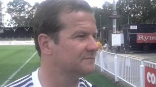 Mark Cooper after Swindon Town's 1-1 draw with Bromley on Saturday