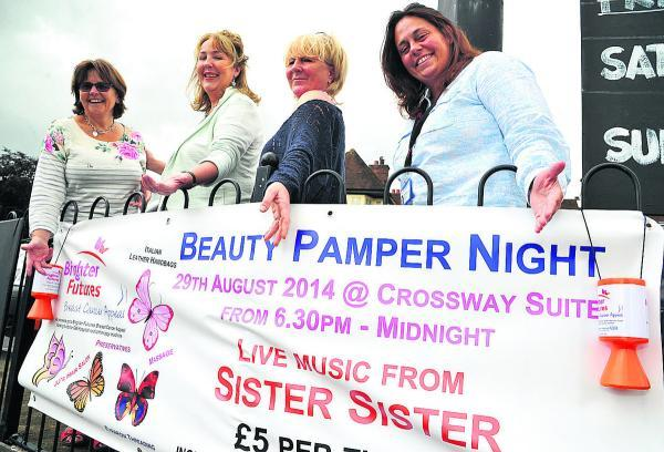From left, Ros Burden, Trish Toner, Bev Neal, Lesley Bayliss