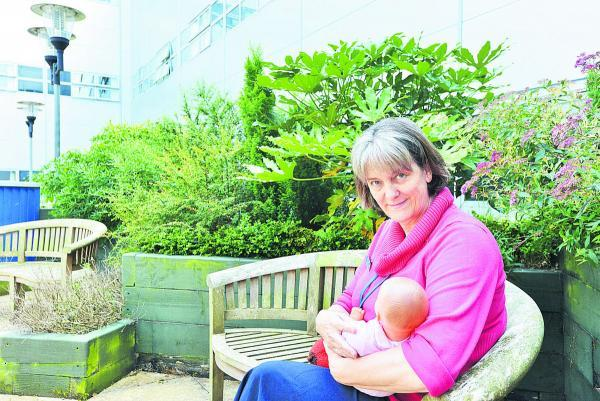 Cathy Gale, the head of breastfeeding at GWH