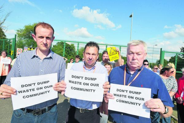 Anger over plan to move blaze rubbish near Penhill