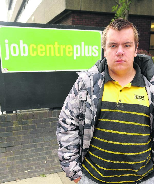 Ben McEachern, who says he is having problems with the Job Centre