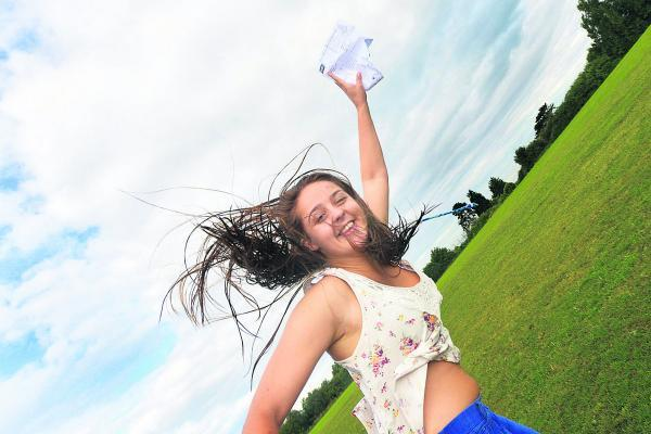 Eleanor Wood, of Royal Wootton Bassett Academy, is delighted with her results