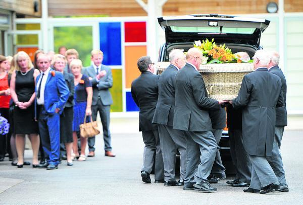 The funeral of Richard Floyd