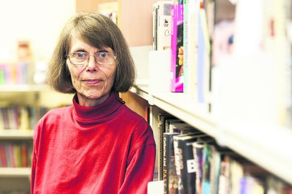 Shirley Burnham at Old Town Library