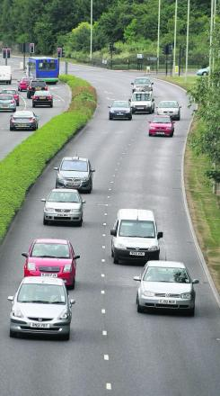 Thamesdown Drive in north Swindon – there have been 48 crashes there in the last three years