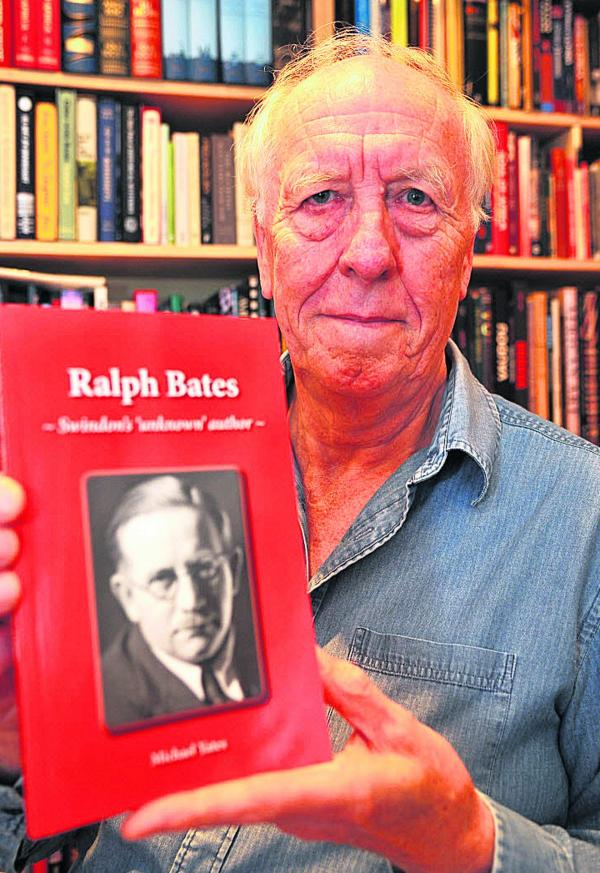 Michael Yates, with the book he has written on Ralph Bates