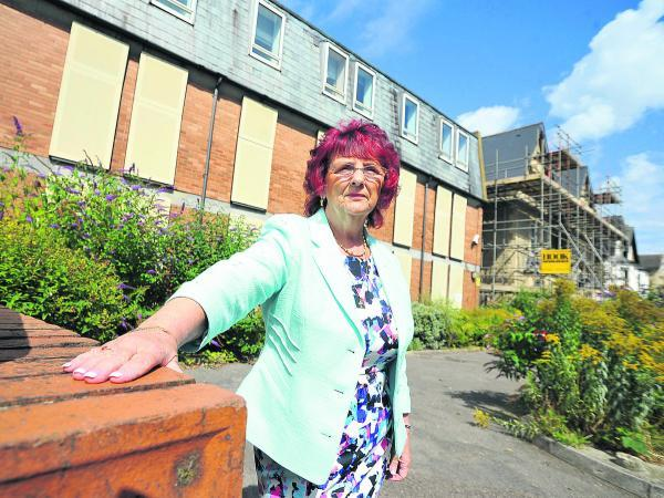 Margaret Byrne, the owner of Gables Guest house in Old Town  near Townsend House, which is going to be turned into flats