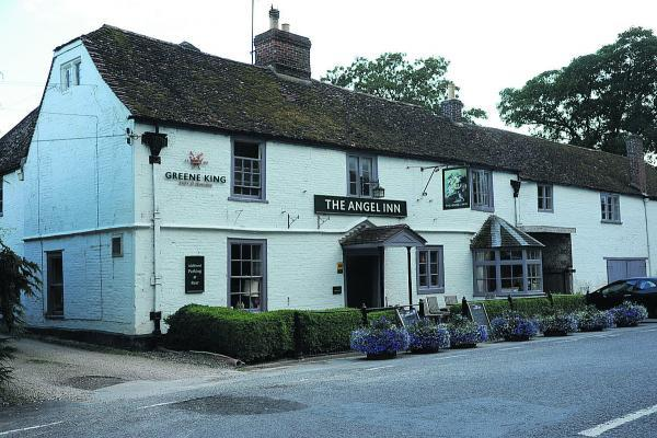 The Angel Inn, in Heytesbury, offers a good selection of meals and also has a specials board and does sandwiches too