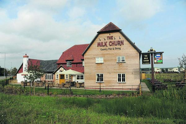 The Milk Churn has recently opened on the outskirts of Melksham