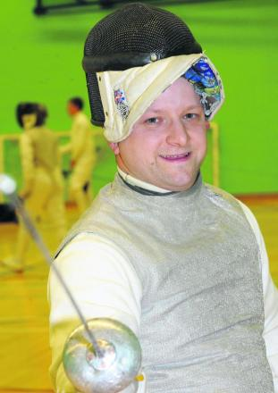 Neil Bromley, of Swindon Fencing Club