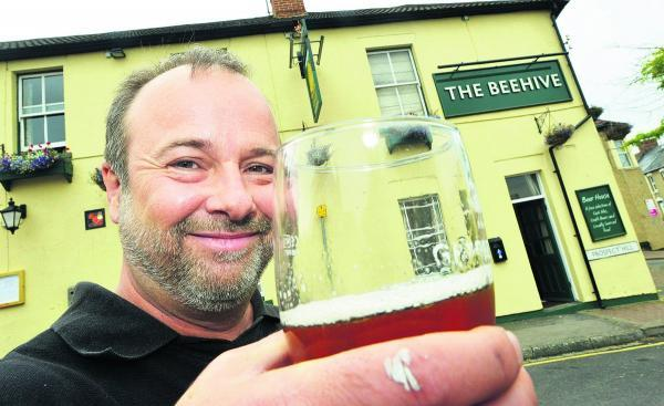 Make a beeline for pub's event