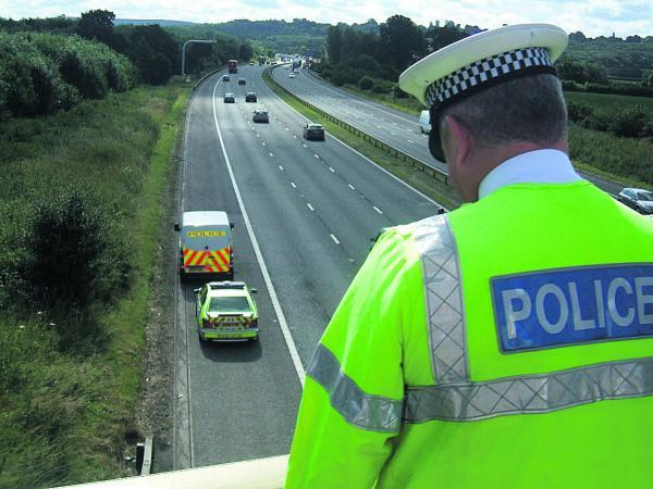 Police patrols will be stepped up along the M4 in the wake of the NATO conference in Newport