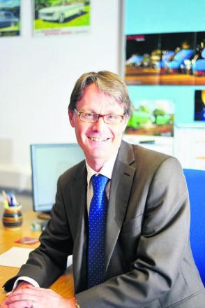 Gordon Frost is the new boss of Thamesdown Transport