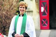 Vicki Burrows, priest in charge at Royal Wootton Bassett
